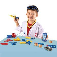 amazon com learning resources pretend u0026 play doctor set 19