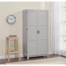 kitchen storage cabinets walmart better homes gardens langley bay 64 storage cabinet gray