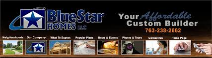 Affordable Home Builders Mn Blue Star Homes Mn Custom Home Builders Models And Neighborhoods