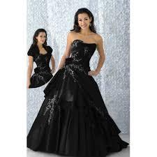 brautkleid in schwarz stickerei bodenlang taft liebsten brautkleid schwarz kleid