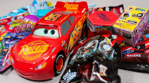 huge sphero ultimate lightning mcqueen surprise cars blind bags