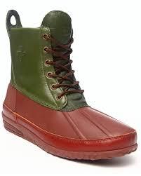 amazon com psyberia men u0027s mudguard leather u0026 rubber boots brown