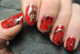 maryam maquillage chinese new year nail art makeup for asian 60