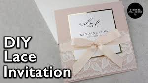 wedding invitation stationery lace invitation diy wedding invitations eternal