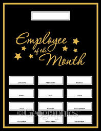 of the month employee of the month kit 48613