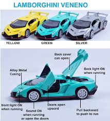 lamborghini veneno model car toys car model lamborghini veneno 1 32 open door sound with light