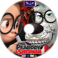 peabody sherman dvd label 2014 r1 custom art