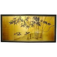 Gold Room Divider by Hand Painted Room Dividers You U0027ll Love Wayfair