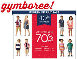 gymboree fourth of july sale up to 70 southern savers