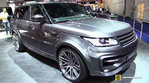 customized land rover 2016 range rover sport startech exterior and interior walkaround