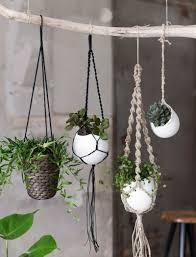 Air Plant Wall Holder Crochet Hanging Basket Pattern Free Easy Tutorial Macrame