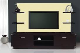 exclusive modern tv stand wall unit with hanging shelves