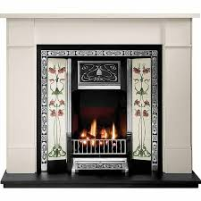 incredible value gallery brompton stone fireplace includes