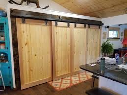 Faux Barn Doors by Western Reserve Hardscapes Completed Landscape And Hardscape