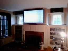 Mounting A Tv Over A Gas Fireplace by Cheshire Ct Mount Tv On Wall Home Theater Installation