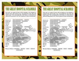 thanksgiving word scrambles free printables the great hospital scramble camouflage printable baby shower