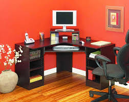 corner computer desk with hutch sei corner computer desk contemporary espresso corner desk