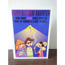 daughter birthday card happy birthday daughter joke card 3 on