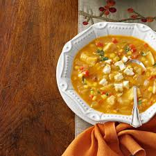 thanksgiving s not yet enchilada soup recipe taste of home