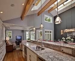 kitchen lighting ideas vaulted ceiling home design ideas