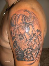 gallery category black u0026 gray image viking warrior tattoo
