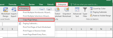 how to insert header and footer on all sheets in excel