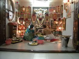 pooja room door designs with bells kerala interior design ideas