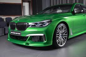 java green bmw check out this rallye green bmw individual m760li displayed in abu