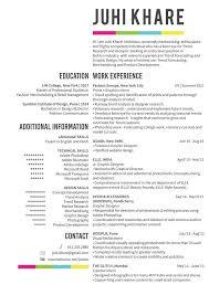 Fashion Merchandising Resume Sample by 1073 Best Design Resumes Images On Pinterest Cv Template