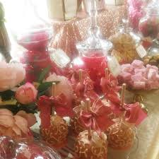 rose gold candy table wedding dessert table in gold and corals candy buffets l sweetie