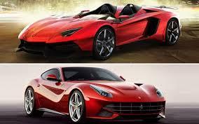 berlinetta vs lamborghini aventador cars on lambo aventador j and f12 berlinetta