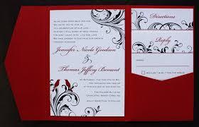 Black Wedding Invitations Red And Black Wedding Invitations Wedding Invitations Wedding