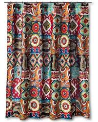 Shower Curtain Sale Big Deal On Mudhut Makayla Shower Curtain Multi Colored