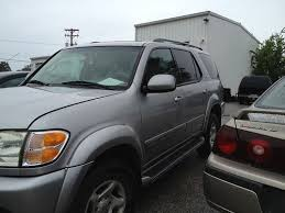 2001 toyota sequoia radiator sell used 2001 toyota sequoia sr5 silver needs radiator and