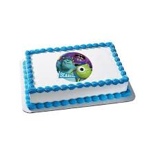 monsters inc quarter sheet edible cake topper each party