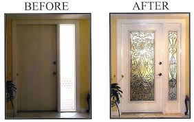 Exterior Door Inserts Stained Glass Inserts Wanderfit Co