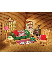 Sylvanian Families Cosy Living Room Mothercare - Sylvanian families luxury living room set
