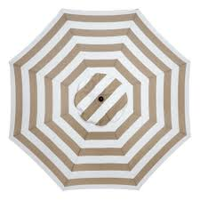Black And White Striped Patio Umbrella by Sunline 9 Ft Navy White Stripe Market Umbrella Ata908b117 F87