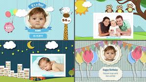 kids photo album baby photo album birthday by armanim videohive