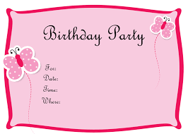 Party Invitation Card Template Free Birthday Invitations To Print Drevio Invitations Design
