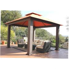 home depot harbor gazebo replacement canopy hampton bay steel
