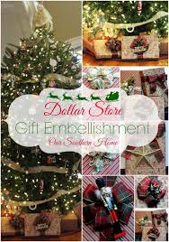 Dollar Tree Decorating Ideas Dollar Store Gift Wrap Ideas Our Southern Home