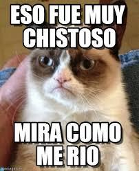 Memes En Espanol - eso fue muy chistoso grumpy cat meme on memegen