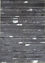 Modern Gray Rugs Grey Acid Silver Stripes Cowhide Rug From The Cowhide Rugs