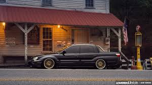 subaru baja blacked out a baja down in helen throwback feature automotive features