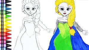coloring coloring elsa book maxresdefault frozen princess for