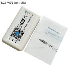 aliexpress com buy mini led wifi controller rgb dc12 24v 12a for