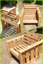 Outdoor Reading Chair Self Made Chair Made Completely From Old Pallets Recycle Upcycle