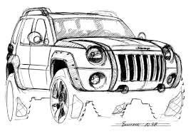 jeep liberty cartoon jeep concept vehicle for the jeep coloring book jeep coloring