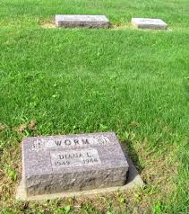 diana burial diana lynn worm 1949 1968 find a grave memorial